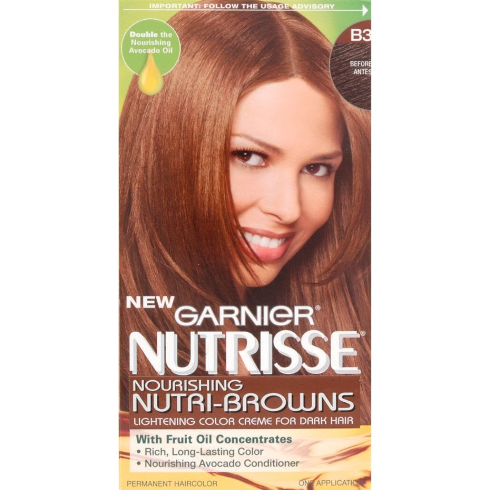 garnier hair color dark brown  Brown Highlights