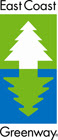 East Coast Greenway button