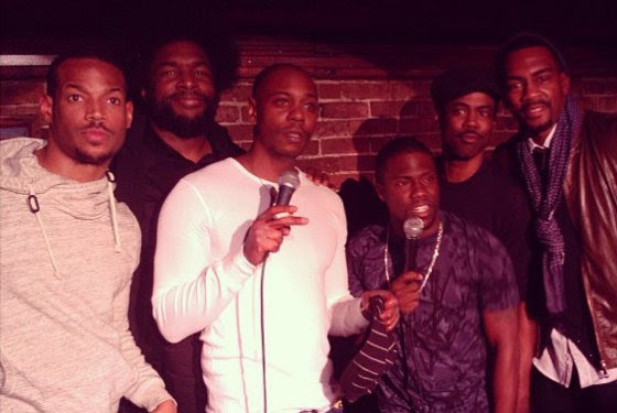 > Quest love x dave chappelle x kevin hart x chris rock x marlon waynes x bellamy - Photo posted in The Hip-Hop Spot | Sign in and leave a comment below!