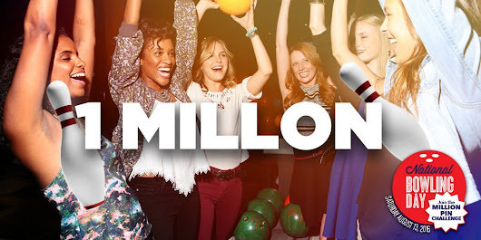 "Bowlero on Twitter: ""We did it! One Day. One Million Pins. Now let's celebrate! #NationalBowlingDay """