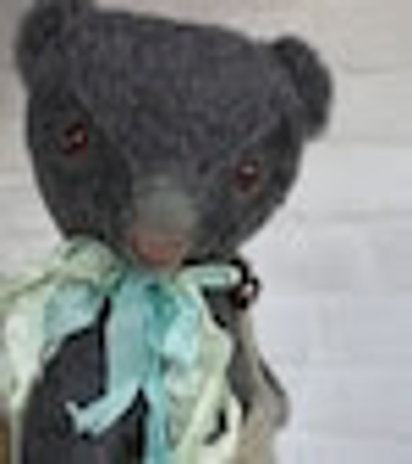 Sewing kit, to make a bear like Mooser