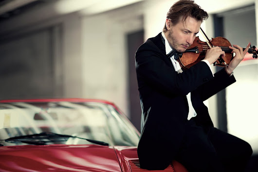 A novel, engaging concert from young violinist Niklas Walentin