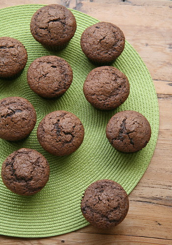 Mocha Muffins with Chocolate Chips (Bon Appetit)