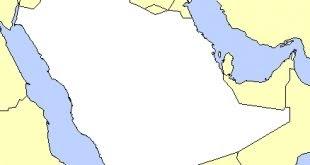 خريطة شبه الجزيرة العربية صماء Images Gallery