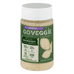 Go Veggie Grated Topping, Parmesan Style - 4 oz