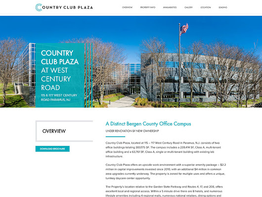Website Design for Country Club Plaza