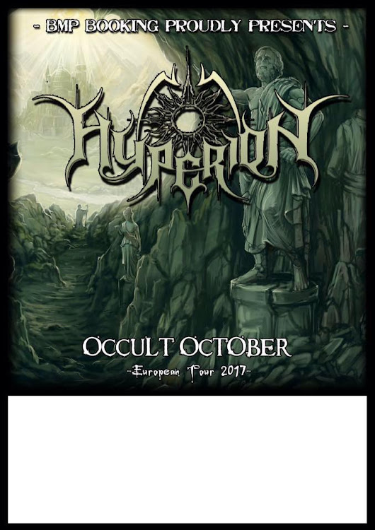 DEMON NEWS: Melodic Black Metallers Hyperion are set to play two shows in Prage and Leipzig, playing support band for German Black thrash band Unlight!