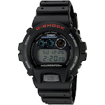 Casio G-Shock DW6900-1V Alarm Watch - 45mm - Black