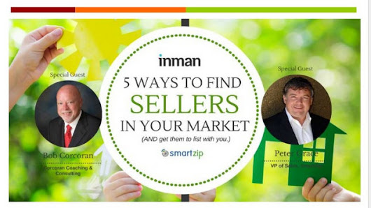 Inman Webinar Recap: 5 Ways to Find and List Seller Leads