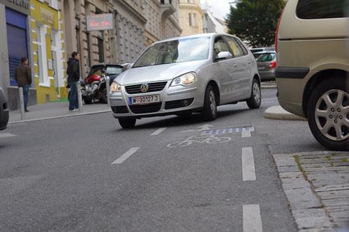 Wrong Way Bike Lane, Vienna
