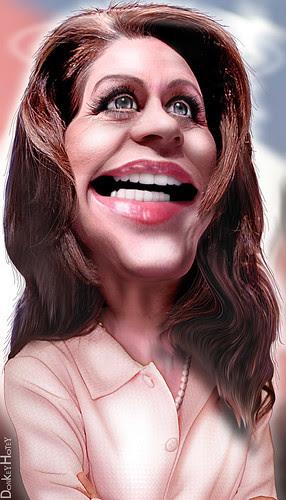 michele bachmann quo. Michele Bachmann - Caricature