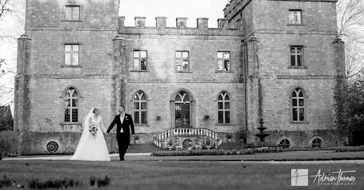 Eleanor & Chris's Clearwell Castle wedding