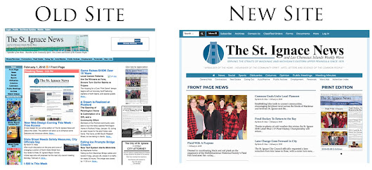A Site Refresh for St. Ignace News - Our-Hometown