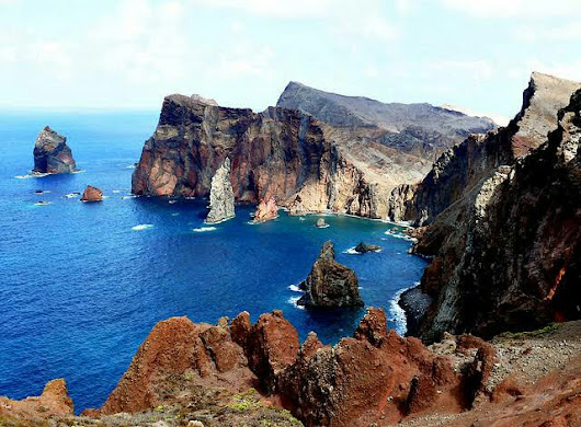 Madeira, an exotic Portugese island in the Atlantic Ocean!