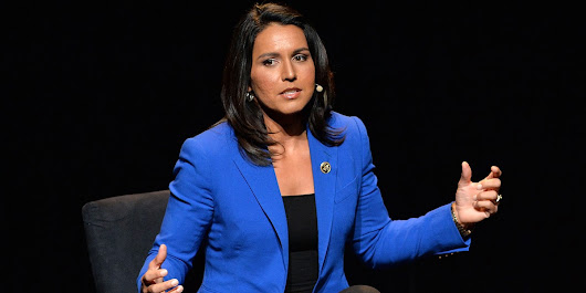 Just A Friendly Reminder That The Establishment Is Terrified Of Tulsi Gabbard