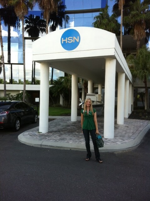 Me at HSN offices