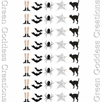 Get Spooked Water Slide Nail Decals-Transparent