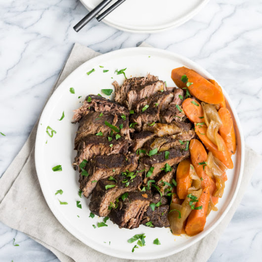 Middle Eastern Spiced Pot Roast - Recipe by Cooks and Kid