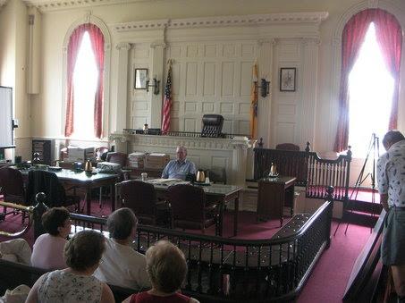 Η Αίθουσα Νο 1 του Δικαστικού Μεγάρου της Morristown, όπως είναι σήμερα.