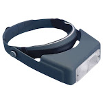 Aven 26101 Optivisor Headband Magnifier - 1.5x