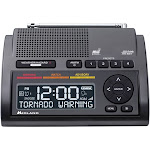 Midland WR400 Deluxe Weather Alert Radio with S.A.M.E./NOAA