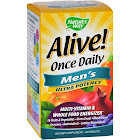Nature's Way Alive! Once Daily Men's Multi-Vitamin, Ultra Potency, Tablets - 60 count
