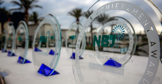 Nutrition Business Journal recognizes business achievement with annual awards