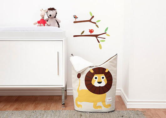 3Sprouts Kids Storage - 7 Ideas to Keep Things Neat in Your Child's Room (Part 1 of 7)