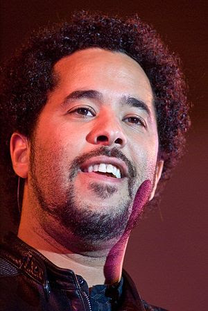 Adel Tawil, singer part of Ich + Ich at a conc...