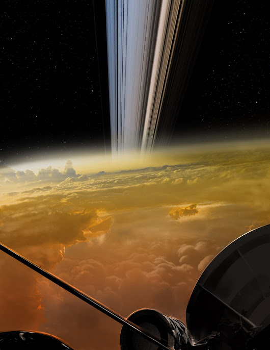 Cassini Just Sent Back Closest Ever Images of Saturn, And They're Incredible | Sci-Tech Universe