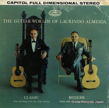 ALMEIDA, LAURINDO guitar world of, the