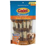 Cadet Triple Flavored X-Large Shish Kabob Dog Treats, 10-count, 2-pack