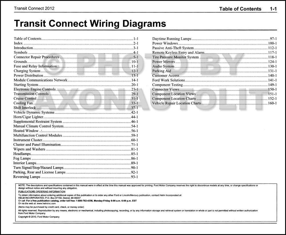 Diagram 2012 Ford Transit Connect Wiring Diagram Manual Original Full Version Hd Quality Manual Original Sitexbenz Fattoriagarbole It