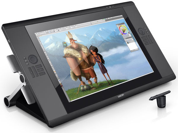 Wacom outs the Cintiq 24HD touch, adds multitouch controls and more to its largest pen display