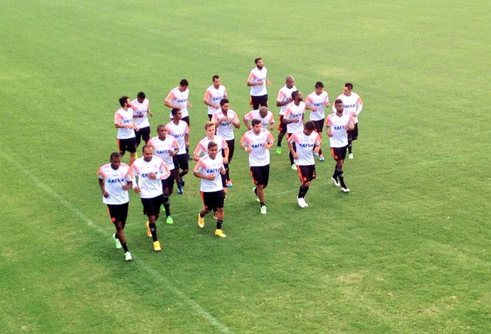 Treino Flamengo (Foto: Cahê Mota)