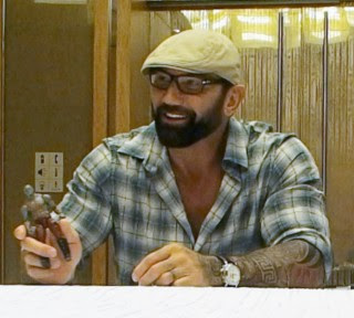 Dave Bautista and Drax action figure 2