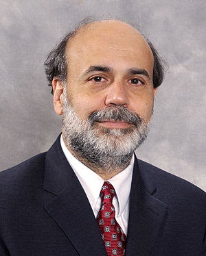 Ben Bernanke, chairman of the Board of Governo...