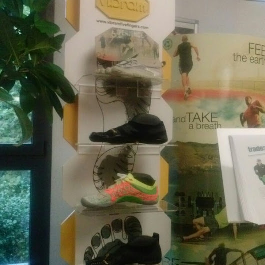 A check-in at Vibram