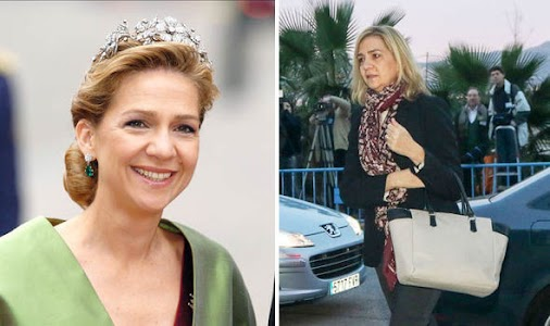#es #spanish #royals #Cristina and  husband, #Inaki Urdangarin at  court in #Palma Majorca  for #tax...