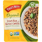 Tasty Bite Brown Rice With Quinoa & Lentils - 8.8oz (250g)