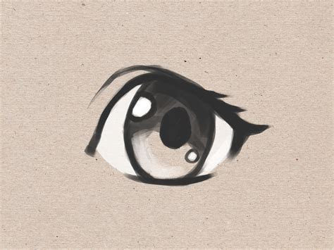 draw simple anime eyes  steps wikihow