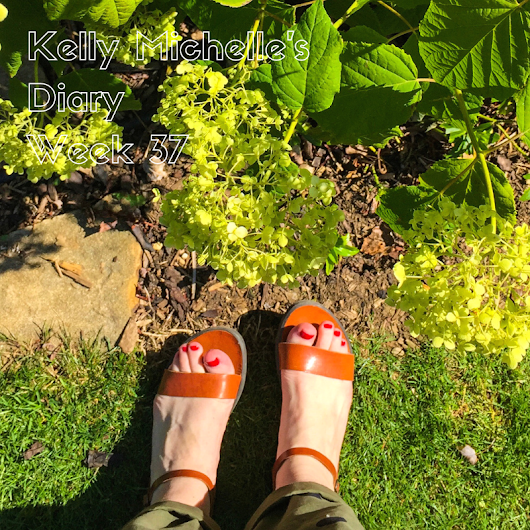 Kelly Michelle's Diary Week 37, 2018 - Around the World in 80 Pairs of Shoes