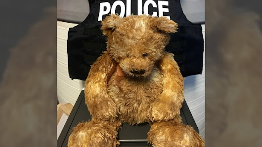 Police seeking owner of lost teddy bear