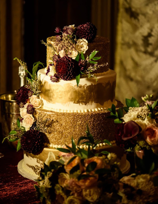 Brown Palace Hotel Fall Burgundy and Gold Wedding - Cloud 9