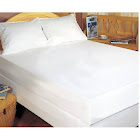 Bargoose Home Textiles Fitted Hypoallergenic Waterproof Mattress Protector, Size: Full