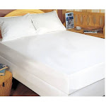 Bargoose Home Textiles Fitted Hypoallergenic Waterproof Mattress Protector, Size: Twin
