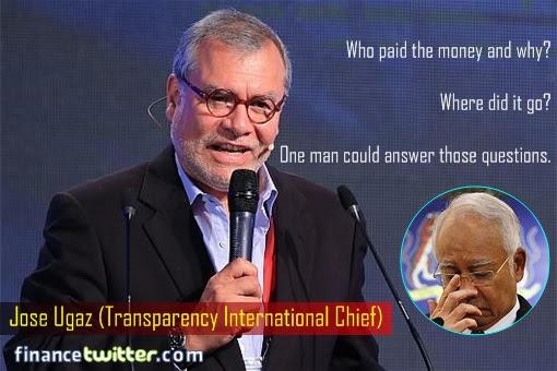 16th International Anti-Corruption Conference IACC - Question From Jose Ugaz - Najib Worry Inset