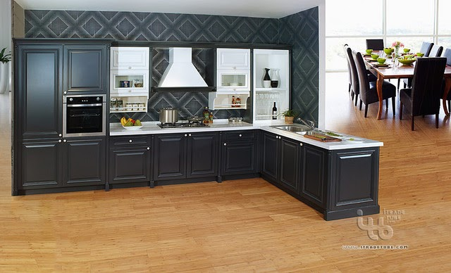 Black Kitchen Cabinets Pictures Hobby Lobby Outdoor Furniture