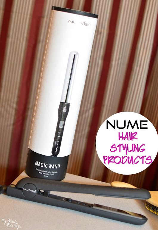NuMe Professional Hair Styling Products Review - My Boys and Their Toys