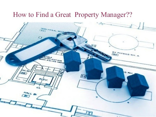 How to Find a Great Property Manager